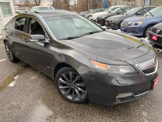 Used 2013 Acura TL ELITE PKG/ SH-AWD/ NAVI/ CAM/ LEATHER/ SUNROOF + + for sale in Scarborough, ON