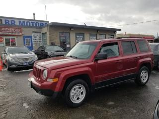 Used 2012 Jeep Patriot SPORT AUTO AIR CONDITION LOADED for sale in Brampton, ON