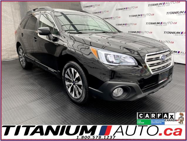 2017 Subaru Outback LIMITED+GPS+EyeSight+Blind Spot+Lane Assist+Leathe