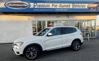 Used 2015 BMW X3 *xDrive28d, Premium, Technology, Driver Assist +* for sale in Langley, BC
