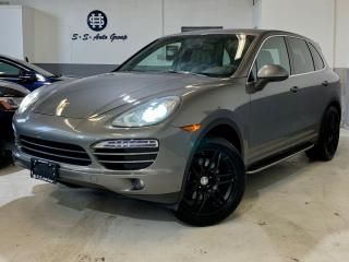 Used 2012 Porsche Cayenne NO ACCIDENT NAV BLACK RIMS PANO ROOF HEATED WHEEL for sale in Oakville, ON