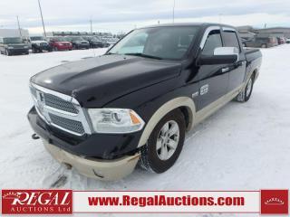 Used 2013 RAM 1500 Laramie Longhorn Crew CAB SWB 4WD 5.7L for sale in Calgary, AB