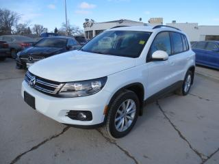 Used 2017 Volkswagen Tiguan 4MOTION Wolfsburg Edition - Leather/Bluetooth/Cam for sale in Winnipeg, MB