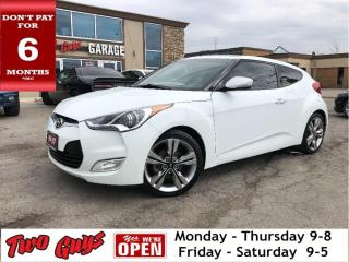 Used 2017 Hyundai Veloster Tech | Panoroof | Auto | Nav | New Tires for sale in St Catharines, ON