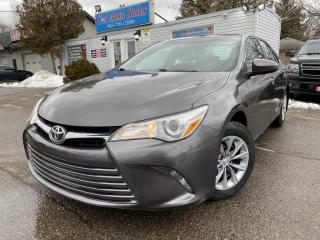 Used 2016 Toyota Camry 4dr Sdn I4 Auto ACCIDENT FREE, back up cam low payments for sale in Brampton, ON
