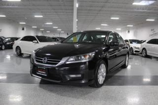 Used 2014 Honda Accord V6 I EX-L I LEATHER I REAR CAM I BLIND SPOT I SUNROOF I BT for sale in Mississauga, ON