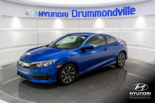 Used 2016 Honda Civic LX + GARANTIE + CAMERA + MAGS + WOW !! for sale in Drummondville, QC