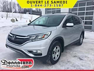 Used 2015 Honda CR-V EX AWD *GARANTIE 10 ANS / 200 000 KM* for sale in Donnacona, QC