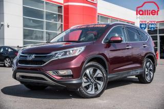 Used 2016 Honda CR-V GARANTIE LALLIER 10 ANS OU 200,000KM MOTOPROPULSEU PREMIER VERSEMENT DANS 90 JOURS* for sale in Terrebonne, QC