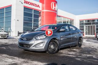 Used 2016 Hyundai Elantra Sport Appearance/MAG.A/C. GROUPE ELECTRIQUE COMPLE 92188A  GRIS for sale in Terrebonne, QC