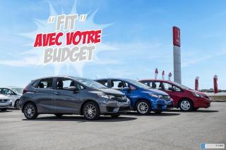 Used 2015 Honda Fit GARANTIE LALLIER MOTO-PROPULSEUR 10ANS/200,000 KIL 02253A NOIR for sale in Terrebonne, QC
