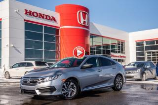 Used 2016 Honda Civic GARANTIE LALLIER MOTO-PROPULSEUR 10ANS/200,000 KIL P4995  ARGENT for sale in Terrebonne, QC