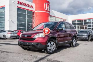 Used 2008 Honda CR-V SUPER AUBAINE Z2161B TQ BOURGOGNE for sale in Terrebonne, QC