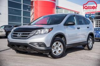 Used 2012 Honda CR-V GARANTIE LALLIER MOTO-PROPULSEUR 10ANS/200,000 KIL 93363B  ARGENT for sale in Terrebonne, QC