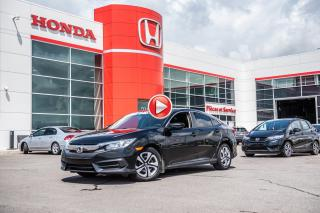 Used 2016 Honda Civic GARANTIE LALLIER 10 ANS OU 200,000KM MOTOPROPULSEU P4821  NOIR for sale in Terrebonne, QC