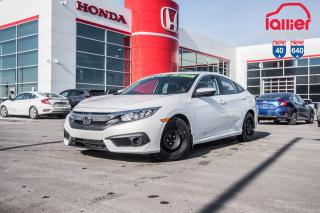 Used 2017 Honda Civic GARANTIE LALLIER MOTO-PROPULSEUR 10ANS/200,000 KIL P4982  BLANC for sale in Terrebonne, QC