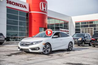 Used 2017 Honda Civic GARANTIE LALLIER MOTO-PROPULSEUR 10ANS/200,000 KIL P4963 BLANC for sale in Terrebonne, QC