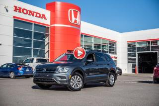 Used 2018 Volkswagen Tiguan TRENDLINE/VALEUR SURE PRESQUE NEUF 92080A  GRIS for sale in Terrebonne, QC
