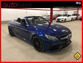 Used 2017 Mercedes-Benz C-Class C63 S AMG NIGHT DISTRONIC HUD PREMIUM 360 CAM CLEAN CARFAX! for sale in Vaughan, ON