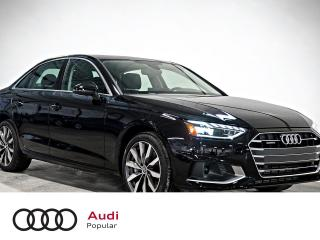 Used 2020 Audi A4 Komfort 2.0 TFSI quattro for sale in Montréal, QC