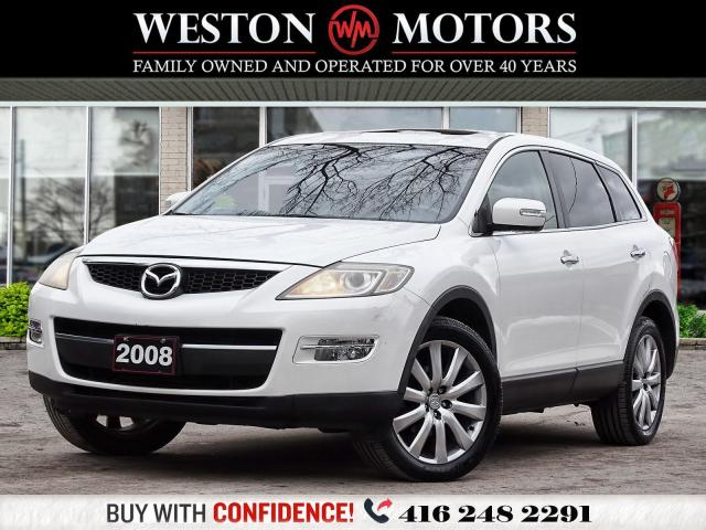 2008 Mazda CX-9 V6*7PASS*LEATHER*SUNROOF*CERTIFIED!!*