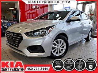 Used 2019 Hyundai Accent Preferred * CAMÉRA / SIÈGES CHAUFFANTS for sale in St-Hyacinthe, QC