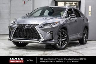Used 2018 Lexus RX 350 *** Réservé / On Hold *** NAVIGATION - SUSPENSION VARABLE ADAPTATIVE - MONITEUR ANGLES MORT - MODE SPORT + - ÉCRAN 12.3'' for sale in Lachine, QC