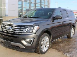 Used 2018 Ford Expedition Limited Max 4dr 4WD Sport Utility for sale in Peace River, AB