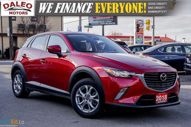 2018 Mazda CX-3 GS | AWD | LEATHER | MOONROOF | BACKUP CAM |