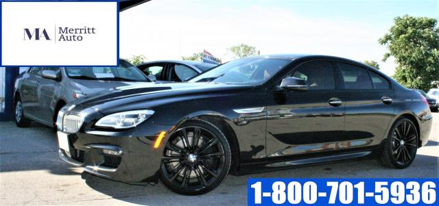 2017 BMW 6 Series 650i xDrive Gran Coupe| M pkg| CLEAN CARFAX