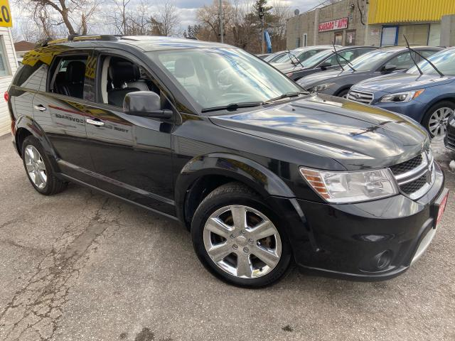 2013 Dodge Journey R/T/ AWD/ 7 SEATS/ LEATHER/ SUNROOF/ CAM/ ALLOYS!