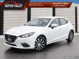 Used 2014 Mazda MAZDA3 4dr HB Sport GX-SKY Hatchback No Accident! for sale in Scarborough, ON