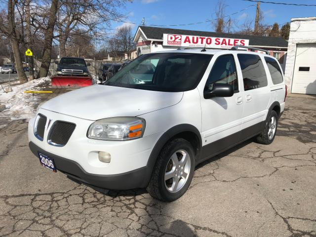 2006 Pontiac Montana Extended/DVD/7Passenger/AS IS Special