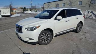 Used 2013 Infiniti JX35 AWD, 7 Pass, Navi, Camra, 3/Y Warranty avail for sale in Toronto, ON