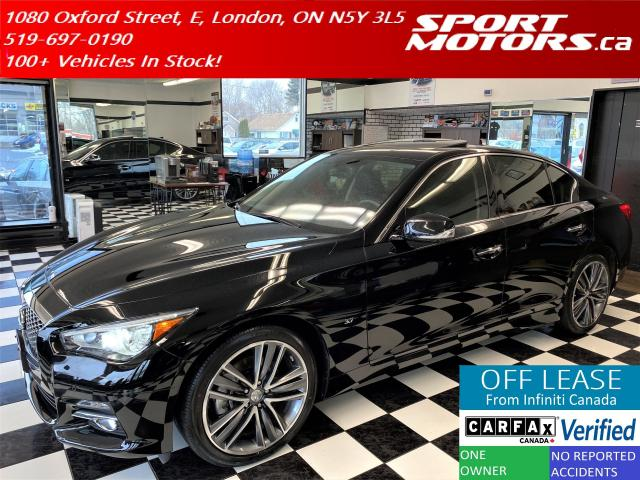 2015 Infiniti Q50 Limited AWD+ProAssist+360 Camera+Accident Free