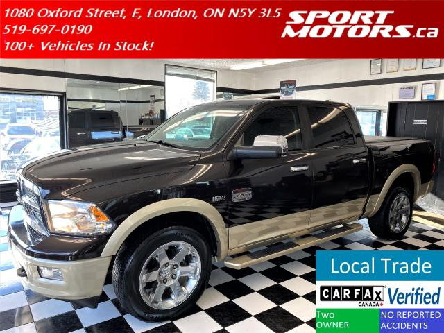 2011 RAM 1500 Laramie Longhorn+DVD+GPS+CooledSeats+Accident Free