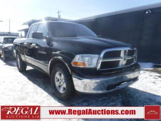 Used 2012 RAM 1500 SLT 4D Crew Cab 4WD for sale in Calgary, AB