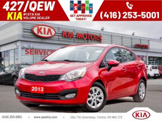 Used 2013 Kia Rio LX+ for sale in Etobicoke, ON