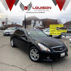 Used 2013 Infiniti G37X  Sport AWD for sale in Toronto, ON