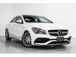 Used 2017 Mercedes-Benz CLA-Class CLA45   AMG   NAVI   WARRANTY   BACKUP CAM for sale in Vaughan, ON