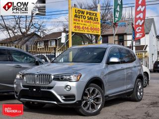 Used 2017 BMW X3 PanoramicRoof*Navi*LDW*HUD*HarmonKardon*BMWWARRANT for sale in Toronto, ON