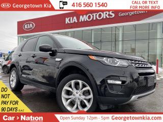 Used 2016 Land Rover Discovery Sport HSE | AWD | NAVI | PANO ROOF | LEATHER | B/U CAM for sale in Georgetown, ON