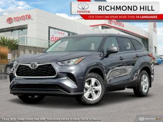 New 2020 Toyota Highlander LE  - $169.84 /Wk - NO PAYMENTS FOR 6 MONTHS WHEN YOU FINANCE A NEW TOYOTA! for sale in Richmond Hill, ON