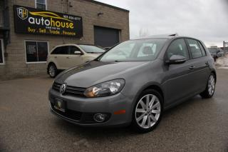 Used 2012 Volkswagen Golf NAVI,Auto,LEATHER,SUNROOF for sale in Newmarket, ON