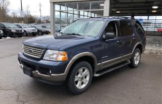 Used 2004 Ford Explorer EDDIE BAUER 4X4 *IMMACULATE CONDITION/ONLY 169 KMS* for sale in Hamilton, ON