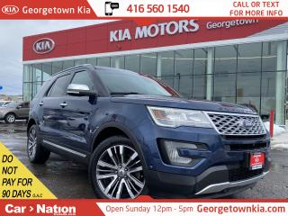 Used 2016 Ford Explorer Platinum | PANO ROOF | NAVI | AWD | LEATHER |7PASS for sale in Georgetown, ON