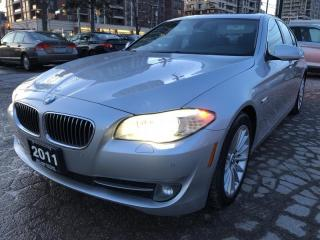 Used 2011 BMW 5 Series 4dr Sdn 535i RWD for sale in Markham, ON