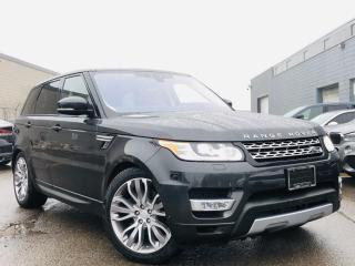 Used 2017 Land Rover Range Rover Sport |DIESEL|HUD|PANORAMIC|AIR SUSPENSION|BIRD EYE VIEW|NAVI! for sale in Brampton, ON