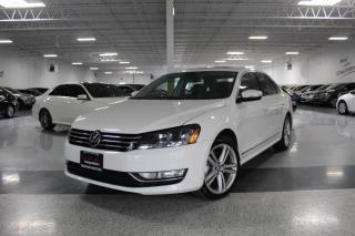 Used 2014 Volkswagen Passat TDI NO ACCIDENTS I NAVIGATION I REAR CAM I LEATHER I SUNROOF for sale in Mississauga, ON