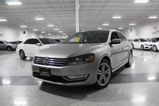 Used 2013 Volkswagen Passat TDI I NO ACCIDENTS I NAVIGATION I REAR CAM I LEATHER I BT for sale in Mississauga, ON